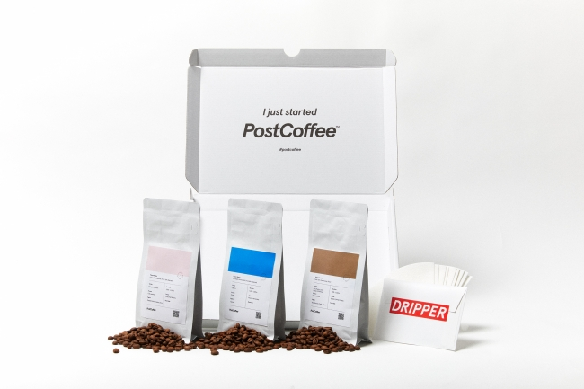 コーヒーのサブスクリプションサービス『PostCoffee』